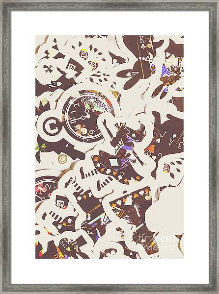 Games And Fairytales Framed Print