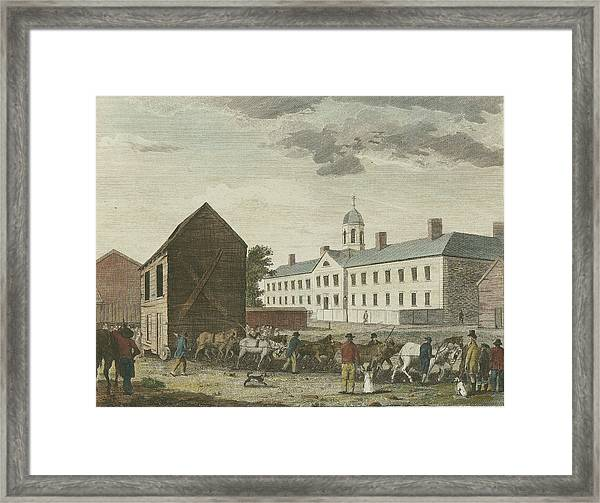 Gaol In Walnut Street Framed Print