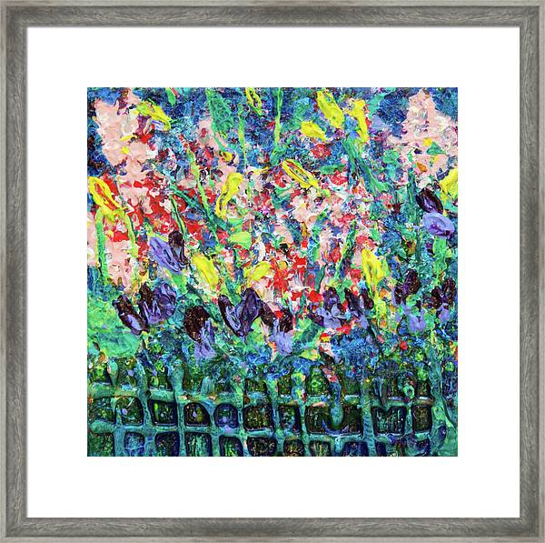 Garden Gems Framed Print