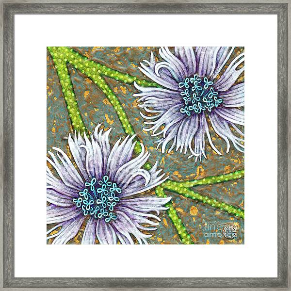 Framed Print featuring the painting Garden Room 29 by Amy E Fraser