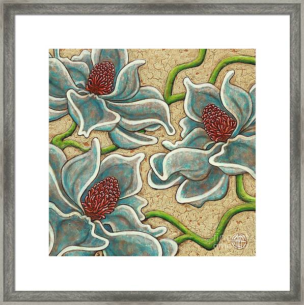 Framed Print featuring the painting Garden Room 39 by Amy E Fraser
