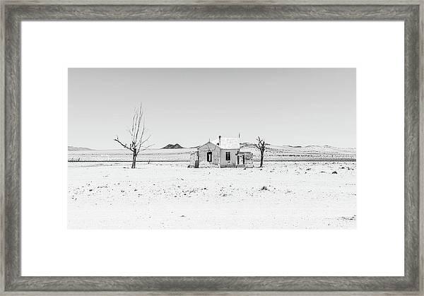 Garub Station Framed Print