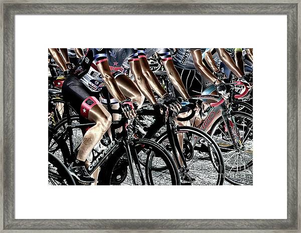 Women On Wheels  Framed Print by Steven Digman