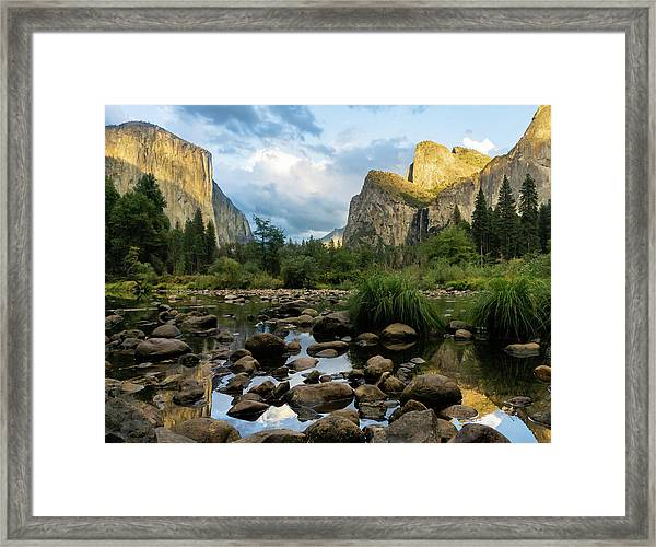 Gates Of The Valley 3 Framed Print