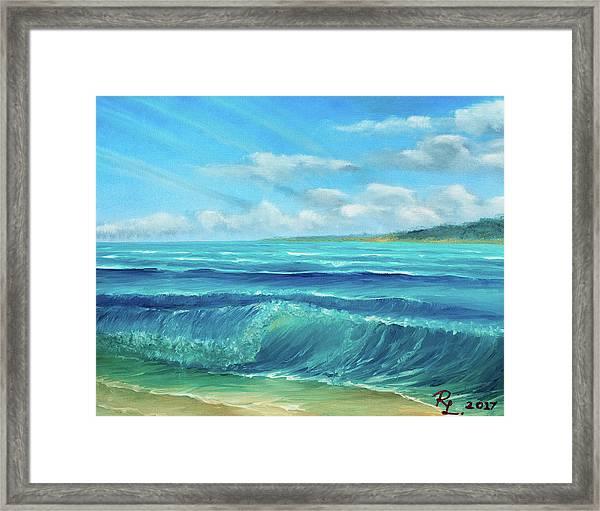 Gentle Breeze Framed Print