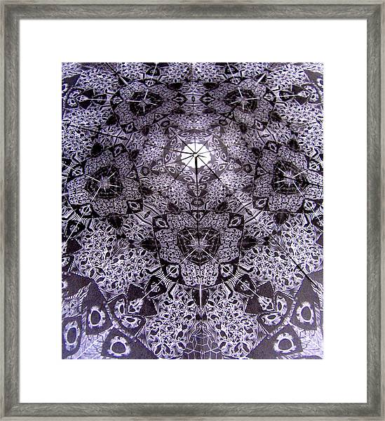 Geo Framed Print
