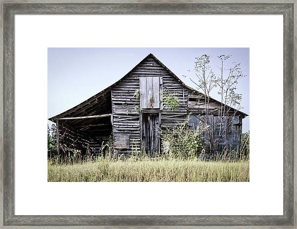 Georgia Barn Framed Print
