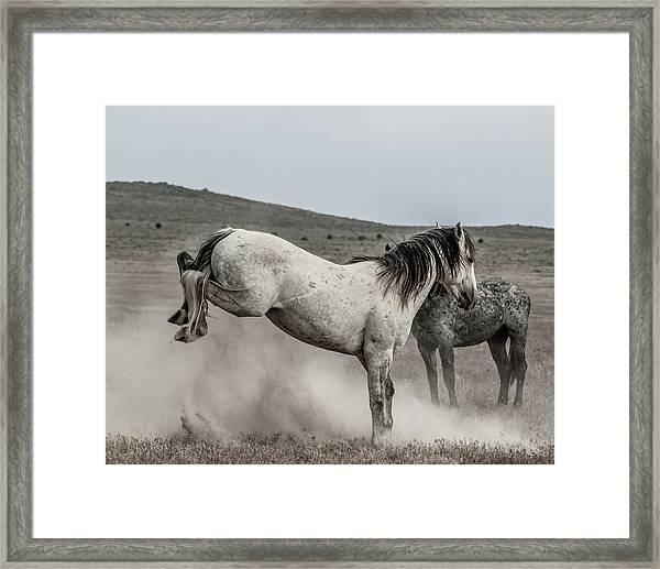 Getting Some Air Framed Print