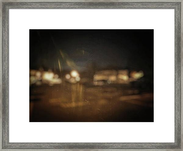 Framed Print featuring the photograph ghosts I by Steve Stanger
