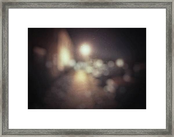 Framed Print featuring the photograph ghosts III by Steve Stanger