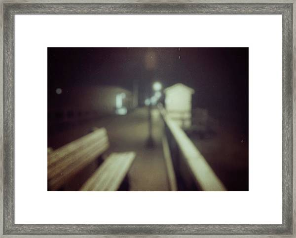 Framed Print featuring the photograph ghosts IV by Steve Stanger