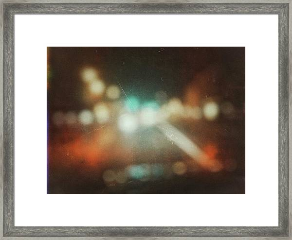 Framed Print featuring the photograph ghosts V by Steve Stanger
