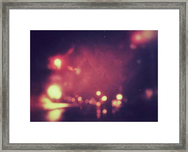 Framed Print featuring the photograph ghosts VI by Steve Stanger