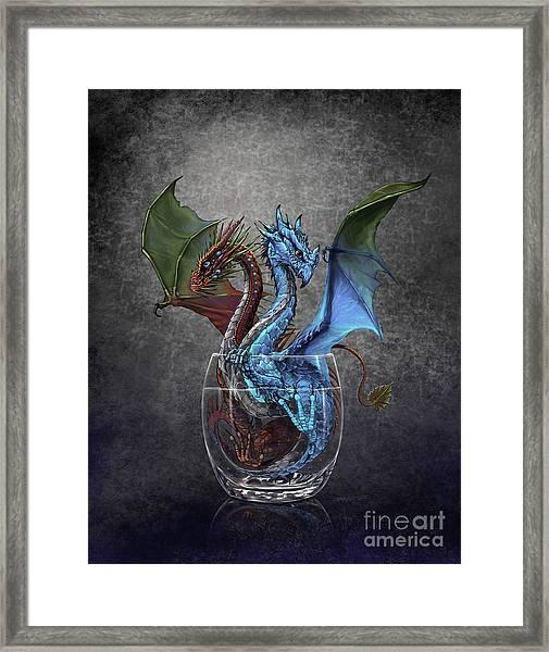 Gin And Tonic Dragon Framed Print