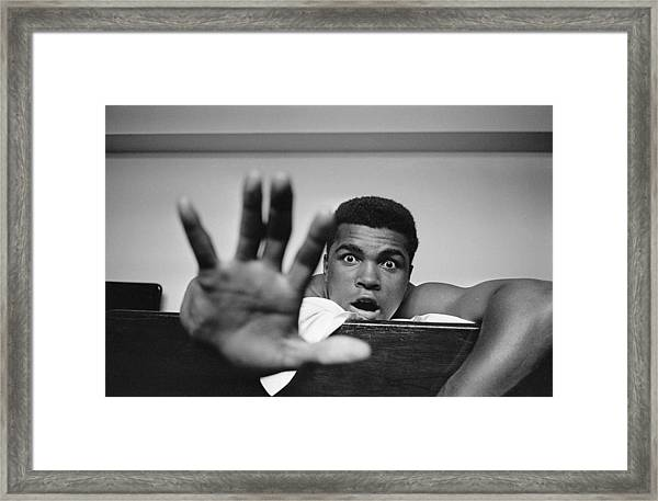 Give Me Five Framed Print