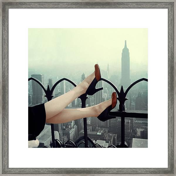 Glamour 1950 Framed Print