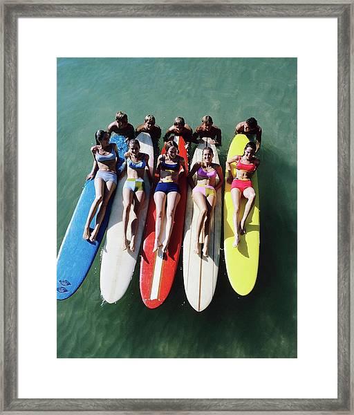 Glamour 1966 Framed Print