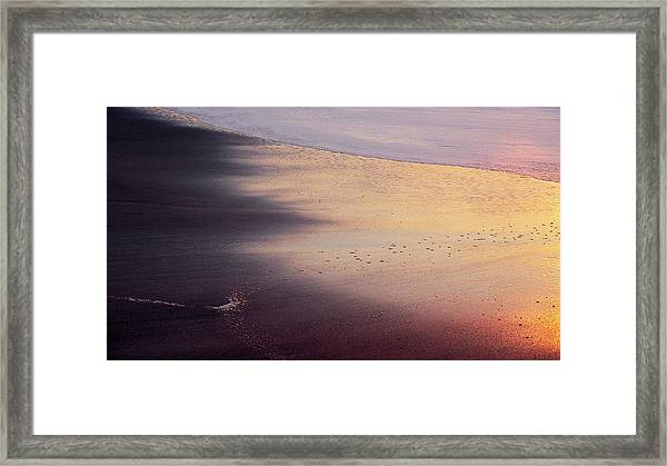 Framed Print featuring the photograph Gleneden Glow by Whitney Goodey