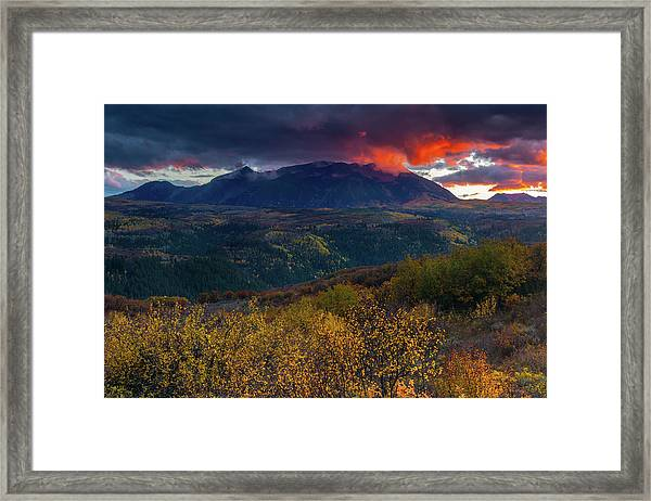 Framed Print featuring the photograph Glimpse Of Heaven by John De Bord