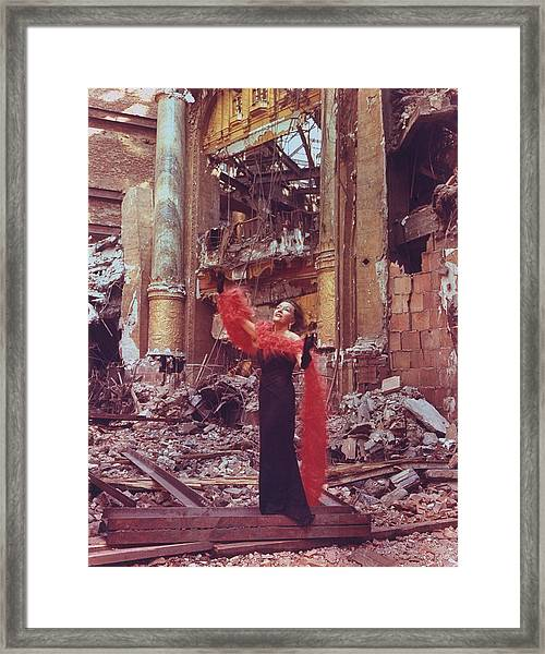Gloria Swanson Framed Print
