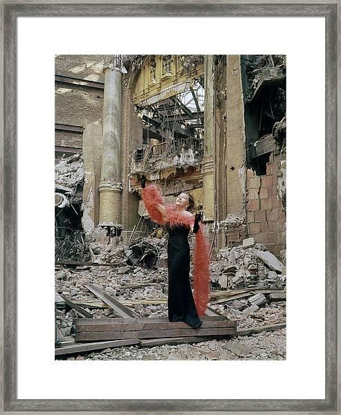 Gloria Swansonjean Louis Misc Framed Print