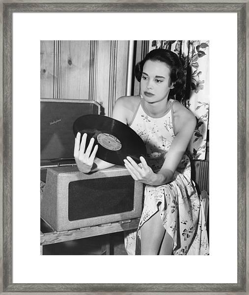 Gloria Vanderbilt Framed Print