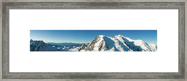 Glorious Mountain Vista Xxxl Framed Print