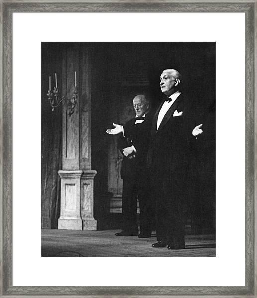 Glyndebourne Greats Framed Print