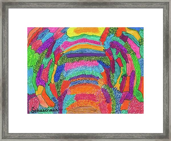 God Is Color - The Original Framed Print
