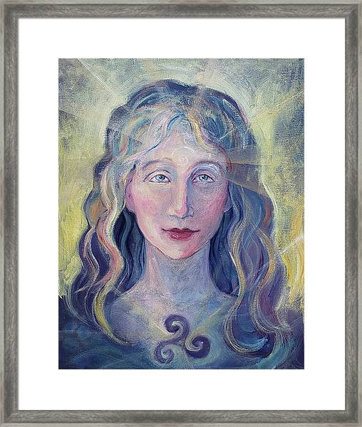 Goddess Brigid Framed Print