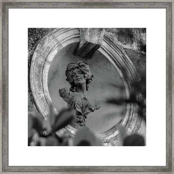 Goddess Unknown Framed Print