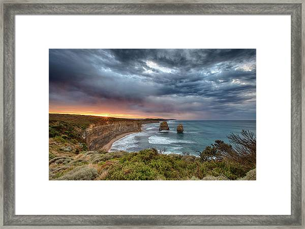 Framed Print featuring the photograph Gog And Magog by Chris Cousins