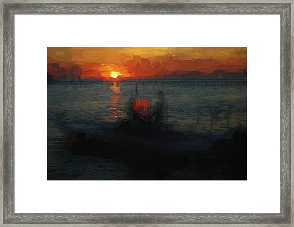 Going Fishin' Framed Print
