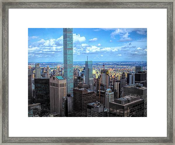 Going Out Of Sight Framed Print