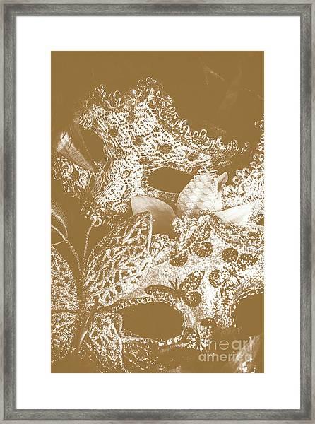 Golden Ball Framed Print