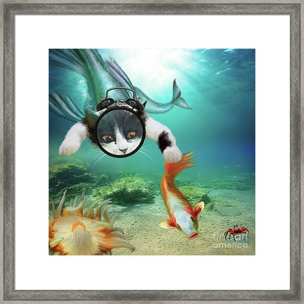 Gone Fishing ... Framed Print