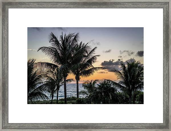 Good Morning, Sun Framed Print