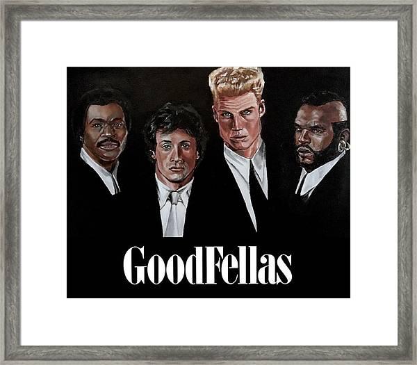 Goodfellas - Champions Edition Framed Print