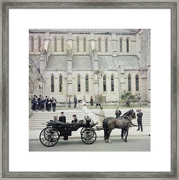 Governor Of Bermuda Framed Print