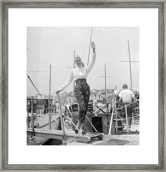 Grace Kelly Framed Print