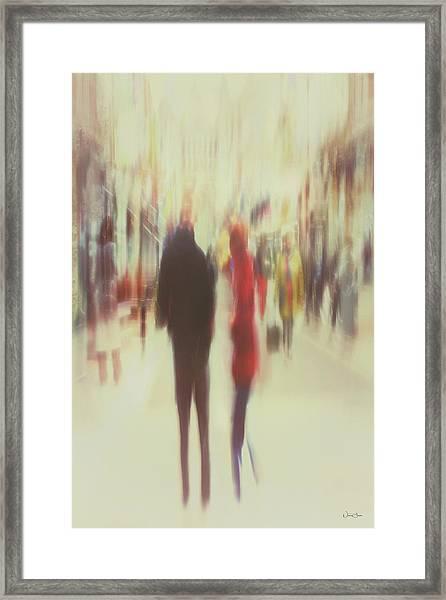 Grafton Street 2 Framed Print by Norma Slack