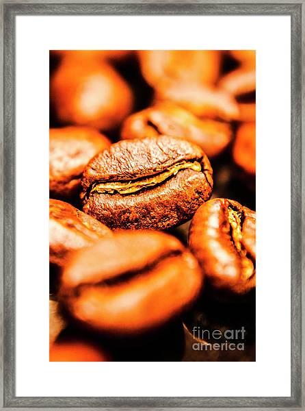 Grainy Framed Print