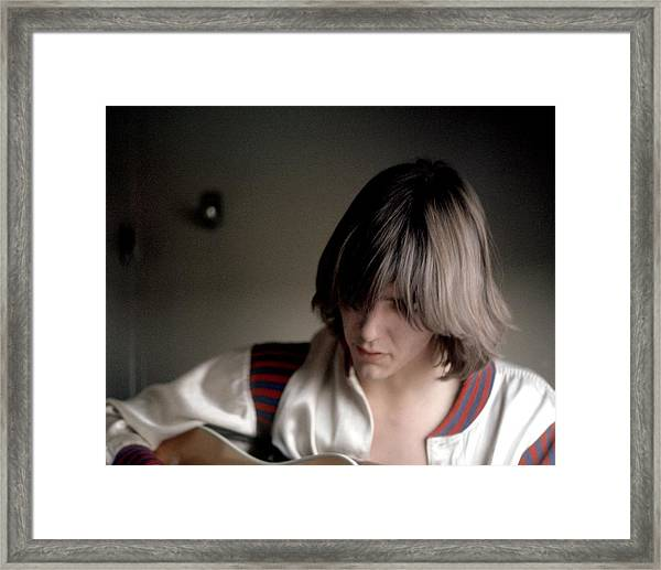 Gram Parsons In Chicago Framed Print