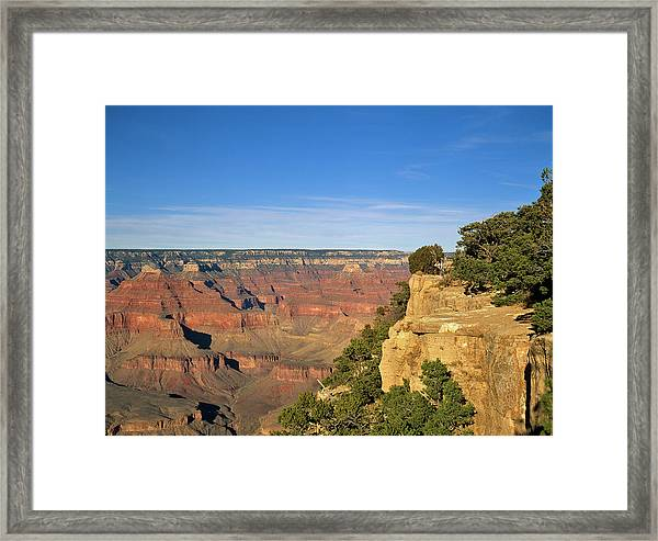 Grand Canyon, Arizona, Usa Framed Print by Travel Ink