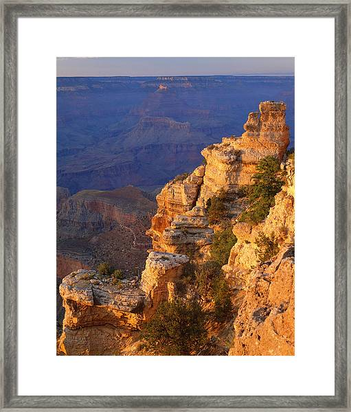 Grand Canyon National Park   P Framed Print by Ron thomas