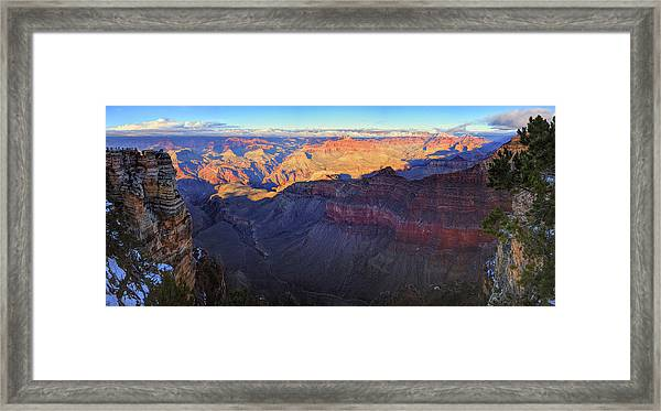 Grand Canyon Panorama Framed Print