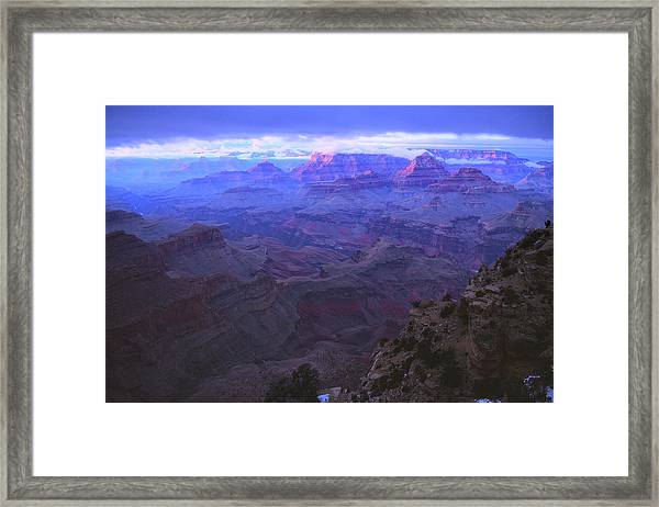 Grand Canyon Twilight Framed Print
