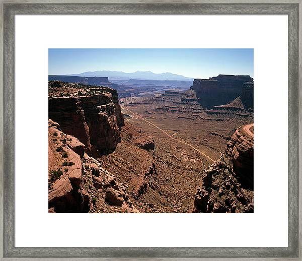Grand Canyon, Utah, Usa Framed Print