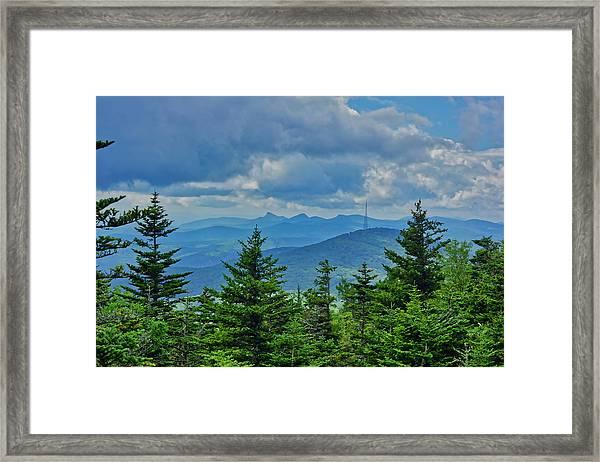 Grandmother Mountain Framed Print
