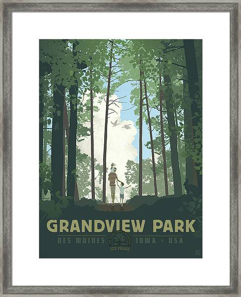 Grandview Park Framed Print